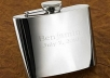 create a PERSONALIZED High Polished Stainless Steel Flask
